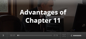 Advantages of Chapter 11