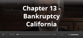 Chapter 13  - Bankruptcy California